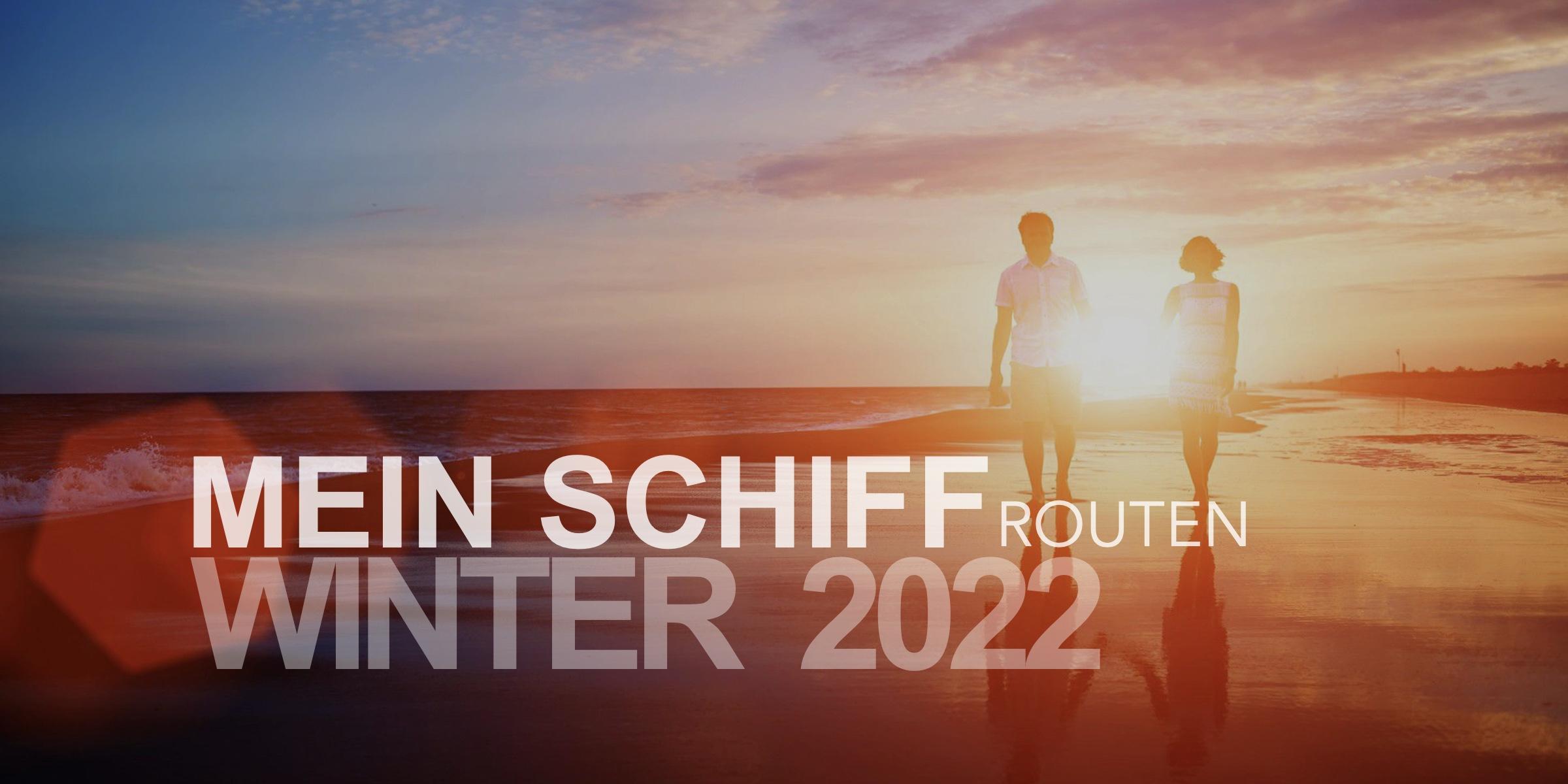 mein schiff routen winter 2022
